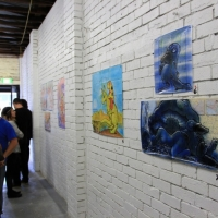 Snapshots   Mark Bode   Ned Kelly & Other Outback Stories   Melbourne   street art genres art event photos painting genres mixed media genres melbourne launch parties inurban illustration genres graphic design genres graffiti genres galleries urban art exhibitions events urban art