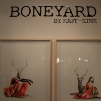 Snapshots   Kaff eine   Boneyard   street art genres prints genres art event photos painting genres melbourne inurban illustration genres galleries urban art fine ary exhibitions events urban art