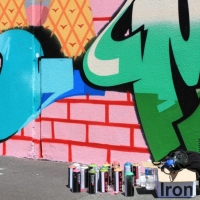 Snapshots   Dabs Myla Paint up   Fitzroy   street art genres art event photos melbourne international graffiti genres