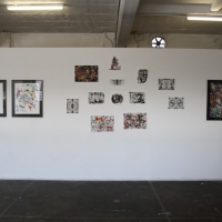 Snapshots   George Diamandis   Expositions   House Of Bricks   street art genres art event photos painting genres mixed media genres melbourne installations genres graffiti genres