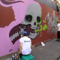 Snapshots   Juddy Roller   Ill Logic 2013   street art genres art event photos melbourne live art urban art events