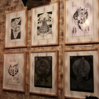 Snapshots   Ink Dots Black Spots   Melbourne   tattoos genres prints genres art event photos melbourne illustration genres graphic design genres graffiti genres