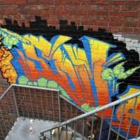 thumbs img 0218   Snapshots   Kiss FM Paint up with SDM & ADN   street art genres paintups urban art painting genres melbourne live art urban art inurban images media graffiti genres events urban art