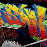 thumbs img 0225   Snapshots   Kiss FM Paint up with SDM & ADN   street art genres paintups urban art painting genres melbourne live art urban art inurban images media graffiti genres events urban art