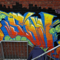 thumbs img 0275   Snapshots   Kiss FM Paint up with SDM & ADN   street art genres paintups urban art painting genres melbourne live art urban art inurban images media graffiti genres events urban art