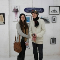 Snapshots   Matthew Dunn VS Kaitlin Beckett   ArtBoy Gallery   street art genres art event photos paper art painting genres melbourne illustration genres galleries urban art exhibition review artist news artist feature events urban art