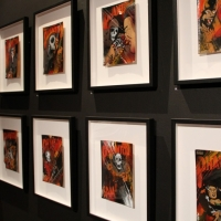 Snapshots   Meggs   Truth In Myth II   prints genres art event photos painting genres mixed media genres melbourne illustration genres comics genres