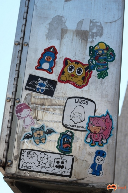 street art stickers how to make