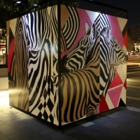 Snapshots   Open Street Art @ Darling Quarter   sydney street art genres art event photos painting genres exhibitions