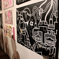 Snapshots   James Reka   Open Studio   Melbourne   street art genres art event photos painting genres melbourne installations genres
