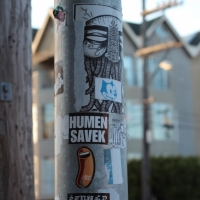 Sojourn   San Francisco Street Art Stickers   street art genres stickers genres art event photos international editorial