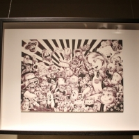 Snapshots   Shohei Otomo  Fools Paradise   Lesley Kehoe Galleries   art event photos melbourne launch parties illustration genres galleries urban art exhibitions events urban art
