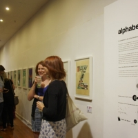 Snapshots   Alphabetica   He Made She Made   Sydney   typography genres sydney prints genres art event photos painting genres mixed media genres illustration genres graphic design genres galleries urban art fonts exhibitions digital genres