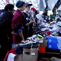 thumbs sneaker3 Large   Snapshots   Sneaker Freaker Swampmeet   Melbourne   art event photos melbourne markets urban art kicks genres fashion