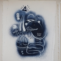Exhibition & Preview   The Yok & Sheryo   Pipe Dreams   Krause Gallery   New York City   street art genres stickers genres sculpture genres previews urban art illustration genres graphic design genres graffiti genres exhibitions
