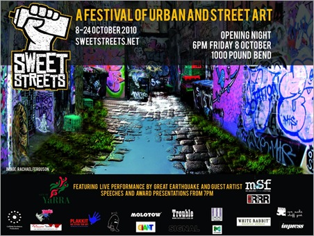 AnInvitationtoSweetStreets11024x768 thumb Event – Sweet Streets Festival – The Kinda Really Rough Guide in melbourne exhibitions events