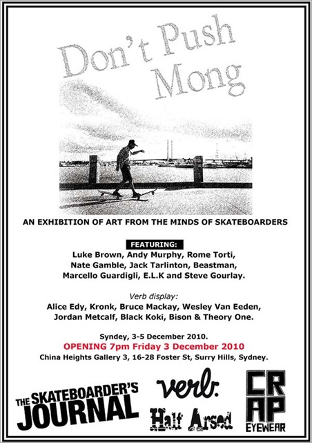 dont push mong china thumb Exhibition – Dont Push Mong – China Heights NSW in sydney exhibitions