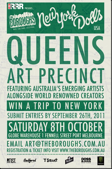 ARTFLYER 16.08 thumb Competition The Boroughs Oz wide in artist news events