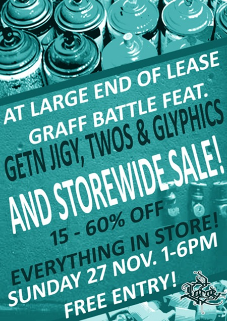 1 11 thumb   Event & Farewells   At Large End Of Lease Graff Battle & Sale   Melbourne   street art genres melbourne live art urban art illustration genres graffiti genres galleries urban art exhibitions events
