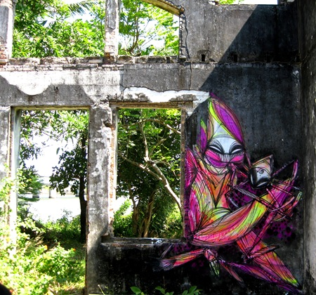 Kep.Cambodia thumb   Snapshots   Shida   South East Asia   street art genres art event photos international artist news
