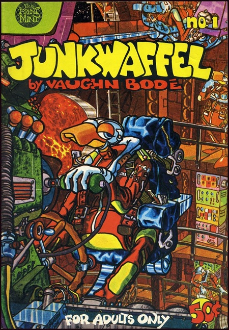 junkwaffel 01 a 1971 bode cv thumb Interview Mark Bodé in street art genres graffiti genres comics genres artist interviews
