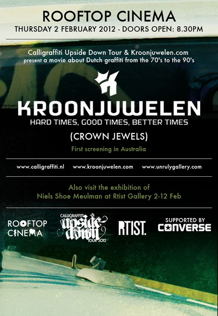 kj 650 thumb   Documentary Screening   Kroonjuwelen   Melbourne   screenings melbourne graffiti genres documentaries genres