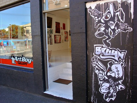 475350 388735011157822 127085710656088 1250700 887054191 o thumb Exhibition BRUYN Going Nuts! Rabbit vs Bear Art Boy Gallery Prahran in toys genres street art genres melbourne illustration genres galleries urban art fine ary exhibitions events