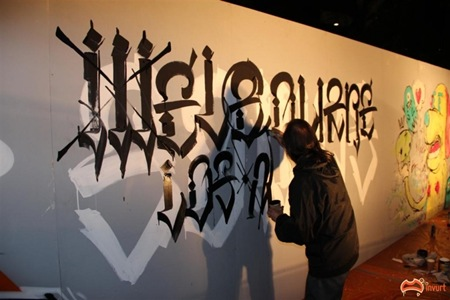 IMG 0984Large thumb   Feature Interview   Chaz Bojorquez   typography genres tattoos genres street art genres skateboards international graffiti genres fonts artist interviews