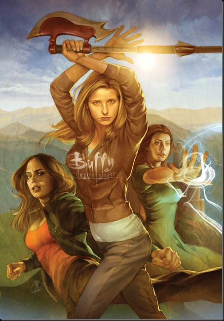 buffy8hard thumb   Interview   Scott Allie   Dark Horse Comics   writing genres melbourne international illustration genres comics genres books artist interviews