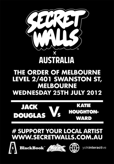 swr31 630x908 thumb   Event & Live Art   Secret Walls Melbourne #3   street art genres painting genres mixed media genres melbourne live art urban art illustration genres comics genres events