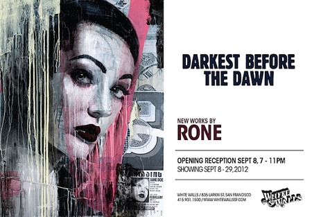 RONE Darkestb4dawnWW.jpg.pagespeed.ce .vYqgfa3Hek thumb   International & Preview   Rone   Darkest Before Dawn   White Walls   San Francisco   street art genres stencil art genres prints genres mixed media genres international graphic design genres exhibitions