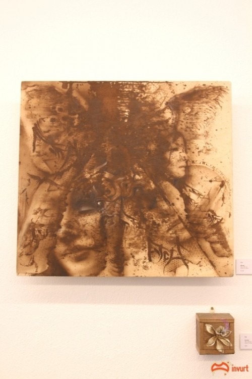 Snapshots   Bryan Itch   Multiple Reality Disorder   RTIST Gallery   wood genres street art genres sculpture genres art event photos painting genres melbourne inurban illustration genres galleries urban art fine ary exhibitions digital genres events urban art