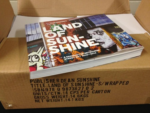 560821 10151261864441075 323660166 n thumb   Event   Land Of Sunshine Book Launch   Melbourne   street art genres melbourne live art urban art launch parties books events