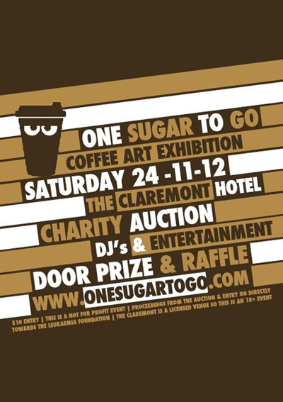 487395 447368341971343 121296255 n1   Event & Exhibition   One Sugar To Go   Perth   perth mixed media genres exhibitions charity urban art events