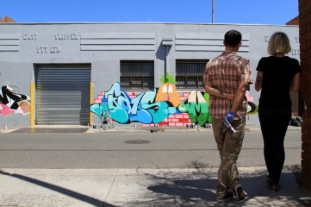 Snapshots – Dabs Myla Paint-up – Fitzroy
