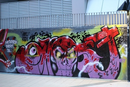 IMG 1798 Custom thumb   Sojourn   Singapore Street Art   Part 2   Rivers & Walls   street art genres stickers genres art event photos international graffiti genres editorial artist interviews