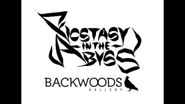 Exhibition & Preview – Shida – Ecstasy in the Abyss – Backwoods gallery – Collingwood – Melbourne