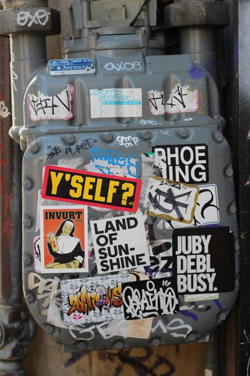 Sojourn – San Francisco Street Art Stickers