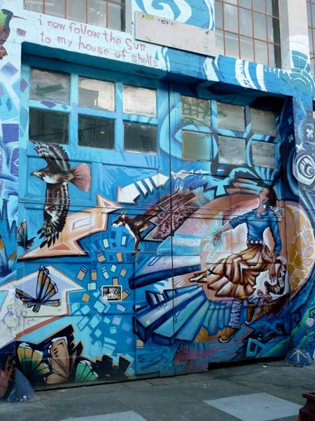 Sojourn – San Francisco Street Art – The Mission