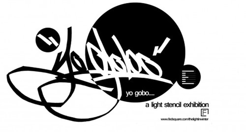 Yo Gobo logo3 550x295 thumb Submissions Wanted Yo Gobo Electro & Stencil Light Exhibition Melbourne in submissions urban art melbourne light painting events