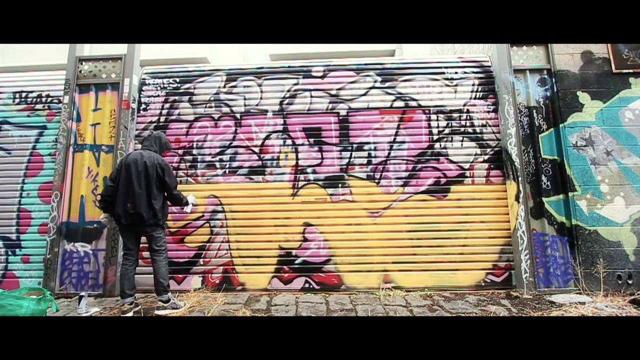Video Bolts Kolour Spraypaint Melbourne Invurt