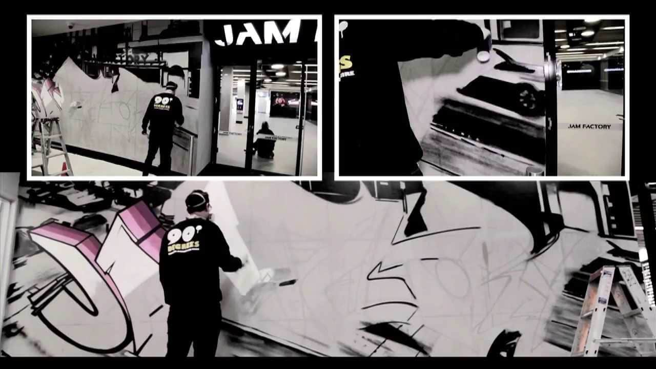 Video – Awes – 90 Degrees @ Jam Factory