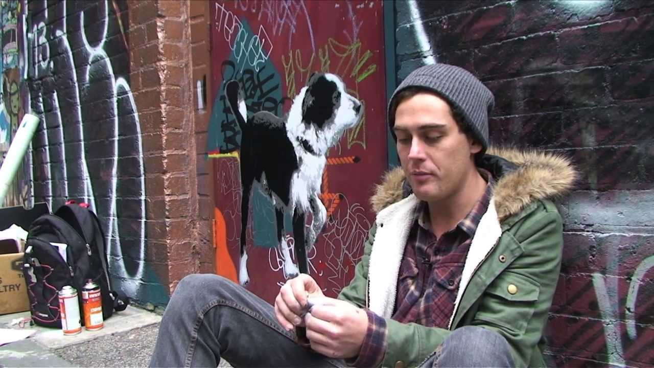 Video – Damien Mitchell – Painting Melbourne
