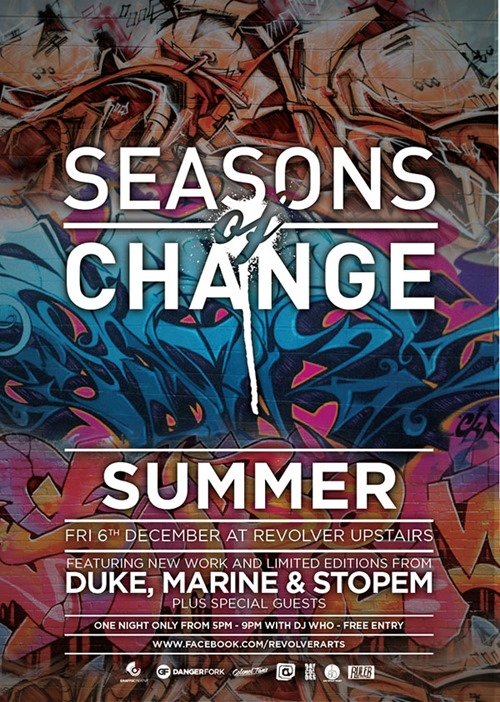 SOC 10 summer update 01 thumb Exhibition Seasons Of Change Revolver Melbourne in painting genres melbourne illustration genres graffiti genres exhibitions