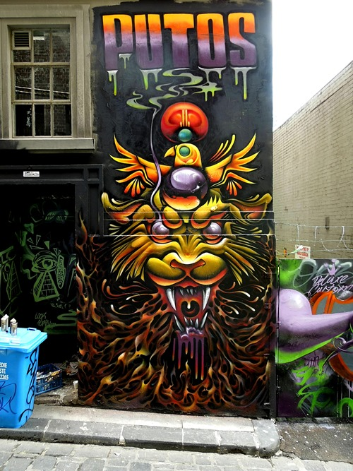 hosier2013 thumb Interview Putos in street art genres melbourne illustration genres graffiti genres artist interviews