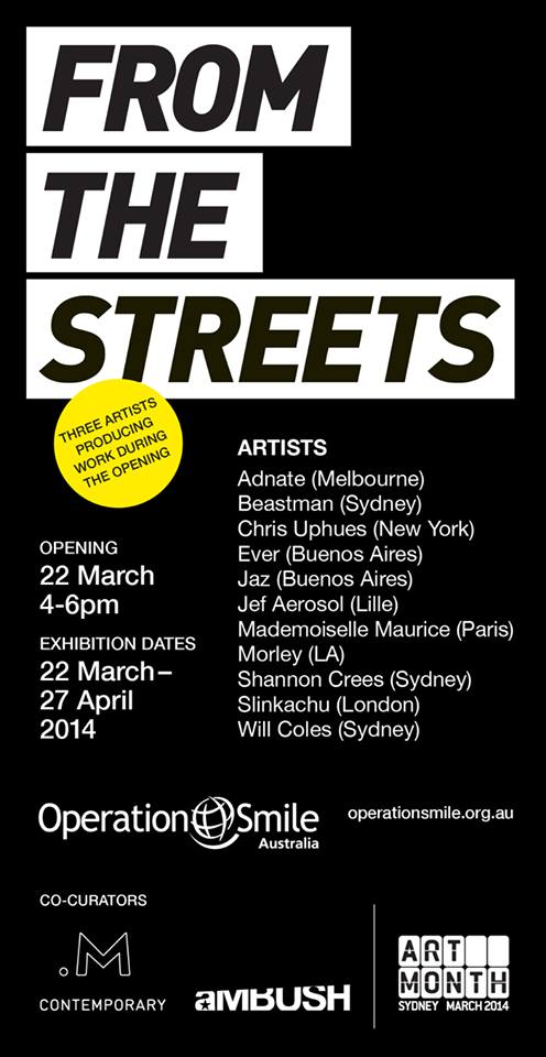 fromthestreets Exhibition From The Streets M Contemporary Sydney in painting genres live art urban art illustration genres exhibitions