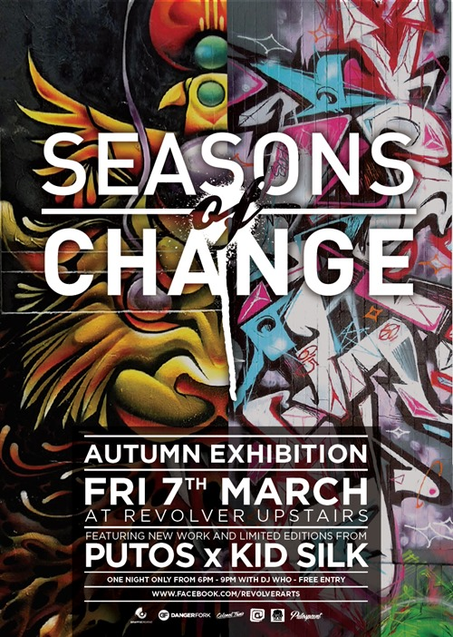 putosilk seasons thumb Interview Silk Roy in street art genres painting genres melbourne illustration genres graphic design genres graffiti genres artist interviews artist feature