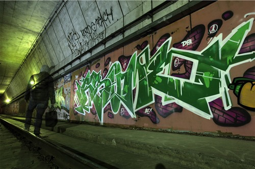 04 Tunnel blogready thumb Interview RSUME in melbourne graffiti genres artist interviews