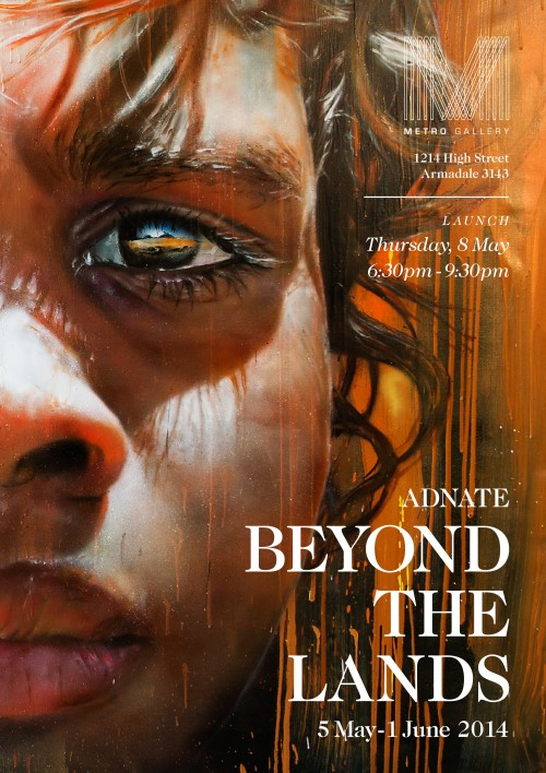 Beyond the Lands 500x708 Exhibition Adnate Beyond The Lands Metro Gallery Melbourne in painting genres melbourne exhibitions