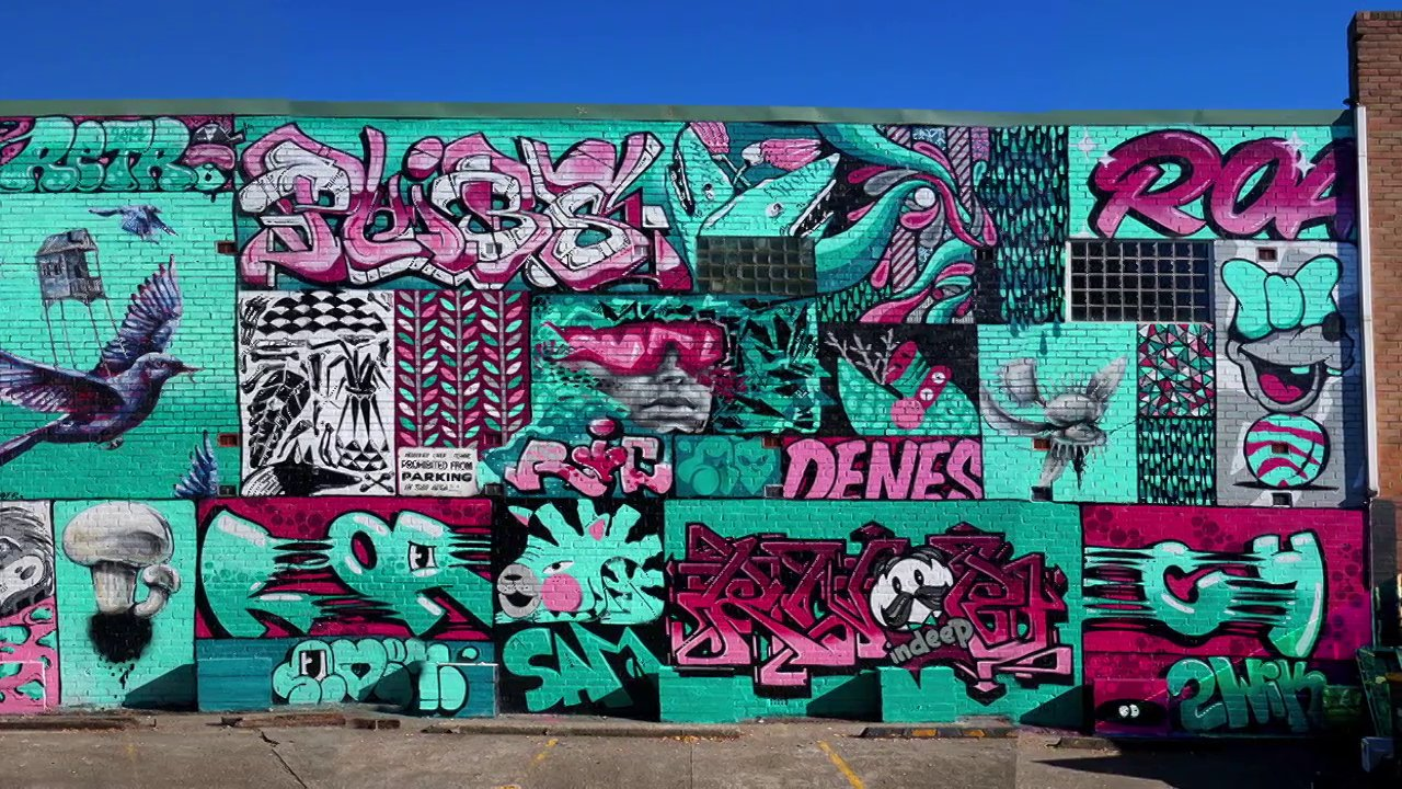 Video – Big Wall Collaboration – Sydney